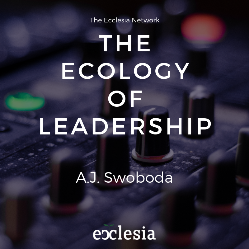 The Ecology of Leadership- with AJ Swoboda