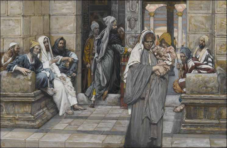 A Thought at the Beginning of Lent: She, Out of Her Poverty, Gave